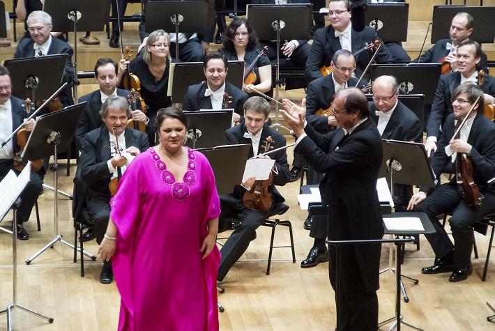 Koncert ruských spevákov v Slovenskej filharmónii, Olesja Petrova, Leoš Svárovký