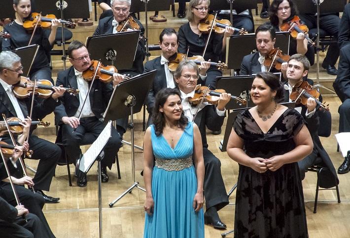 Koncert ruských spevákov v Slovenskej filharmónii, Irina Mataeva, Olesja Petrova