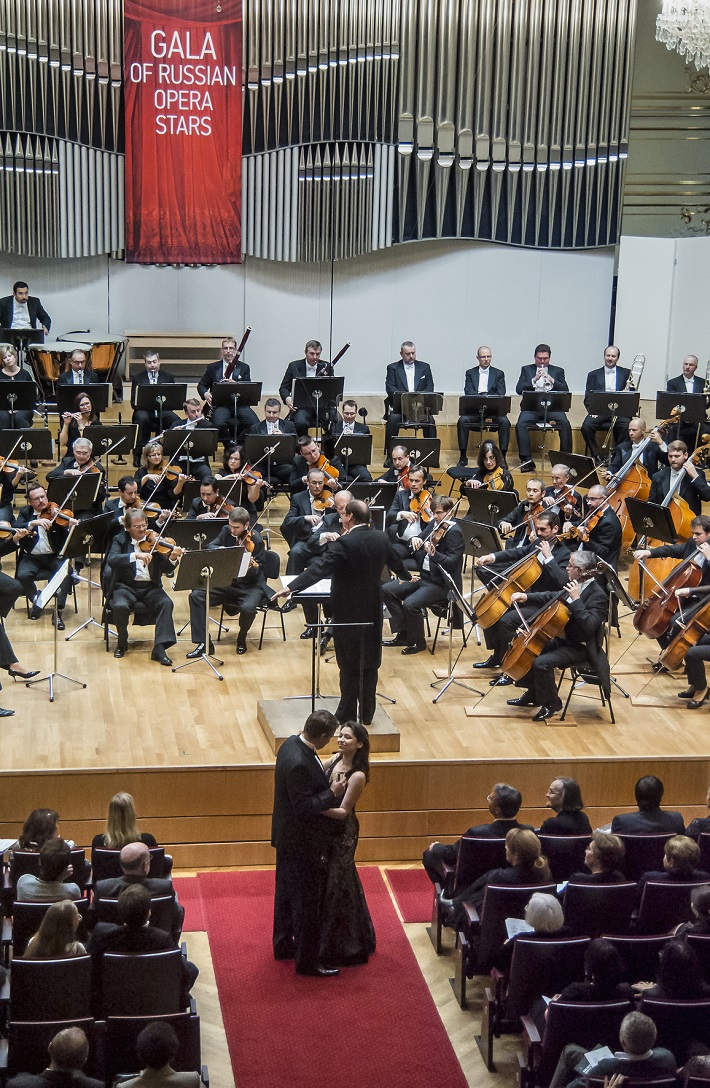 Koncert ruských spevákov v Slovenskej filharmónii, Sergey Semishkur, Irina Mataeva