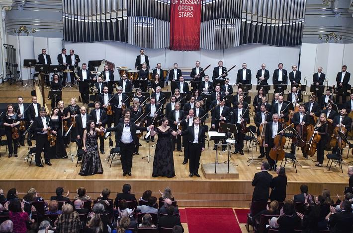 Koncert ruských spevákov v Slovenskej filharmónii, Irina Mataeva, Sergey Semishkur, Olesja Petrova, Andrey Bondarenko