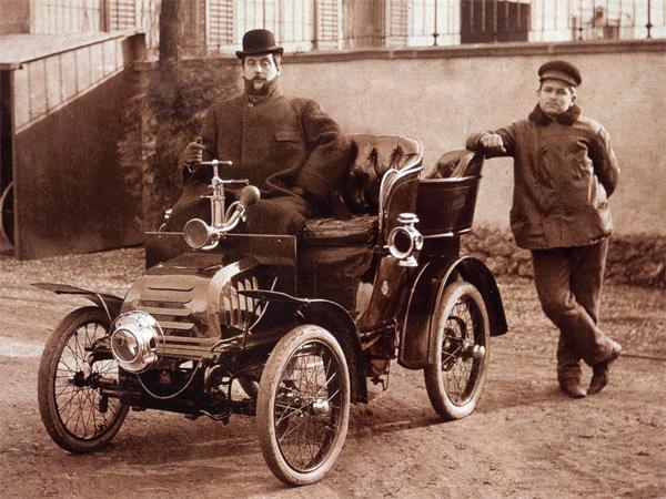 Giacomo Puccini ako milovník áut