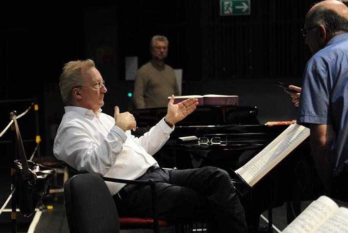 Salome, Opera SND, foto zo skúšky opery, foto: Alena Klenková