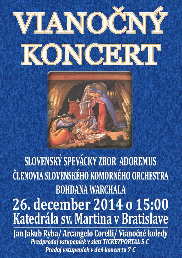 Vianočný koncert Adoremus