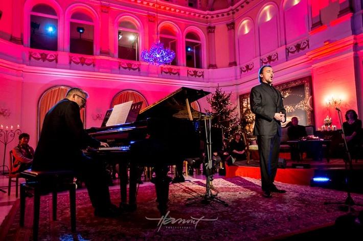 Štefan Kocán a Róbert Pechanec, koncert Advent 2014 Piešťany, foto: Zdenko Hanout