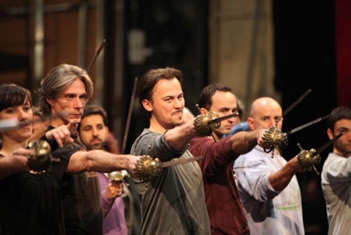 Štefan Kocán, foto zo skúšky opery Don Giovanni, La Scala