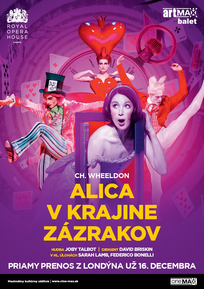 Alica v krajine zázrakov, Royal Opera House