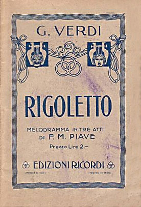 Giuseppe Verdi Rigoletto