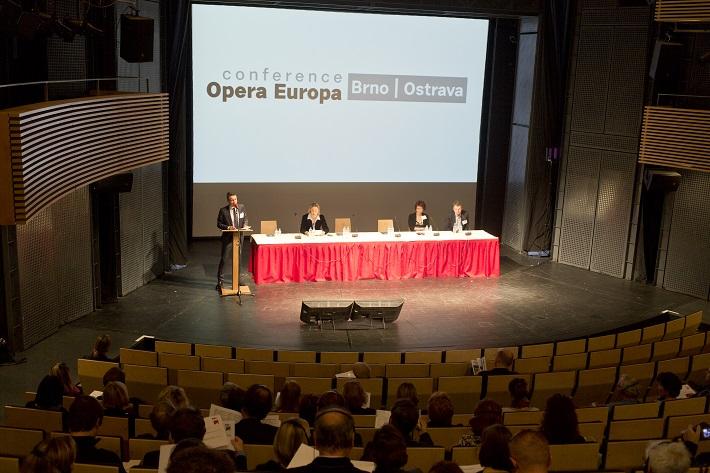 Janáček Brno 2014 Medzinárodná konferencia Opera Europa v Brne, foto: Patrik Borecký