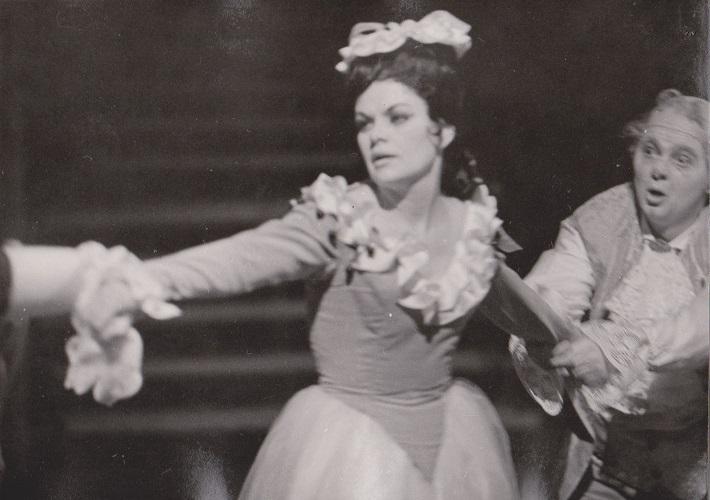 Jarmila Smyčková (Rosina), Barbier zo Sevilly, Opera SND