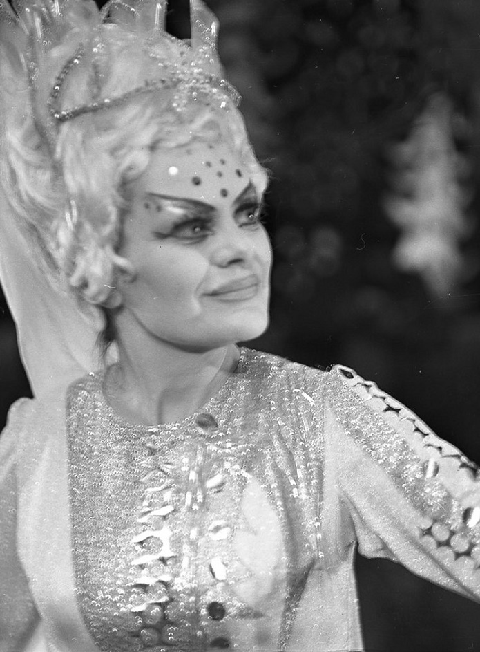 Jarmila Smyčková (Studená princezná), Martin a slnko, Opera SND 1975, foto: Jozef Vavro