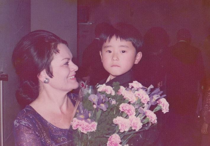 Jarmila Smyčková na zájazde v Japonsku, foto zo súkromného archívu Jarmily Smyčkovej