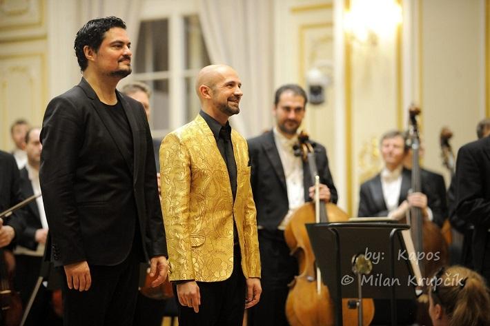 Koncert Maxa Emanuela Cenčića v Bratislave, foto: Milan Krupčík