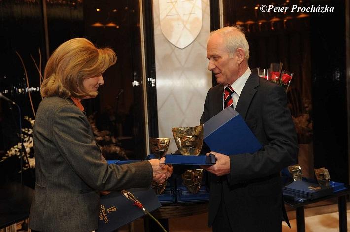 Odovzdávanie Ceny Literárneho fondu 2014, Elena Blahová-Martišová - Cena za celoživotné dielo, foto: Peter Procházka