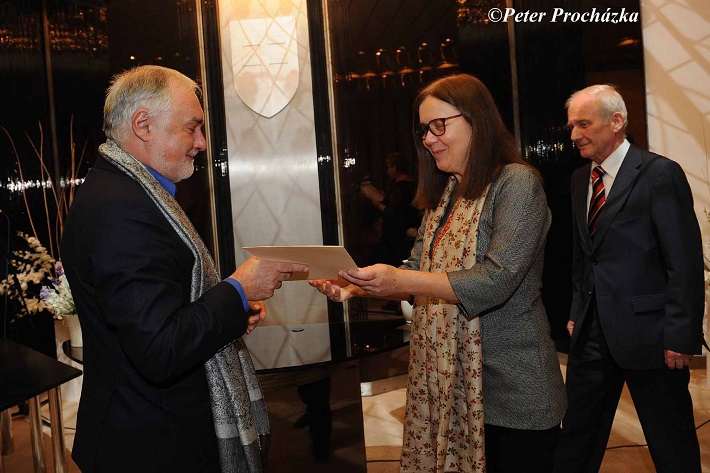 Odovzdávanie Ceny Literárneho fondu 2014, Marián Chudovský - Výročná cena za réžiu opery Piková dáma v SND, foto: Peter Procházka