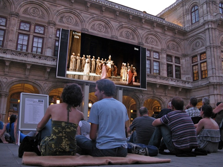 Projekt Oper Live am Platz vo Viedni