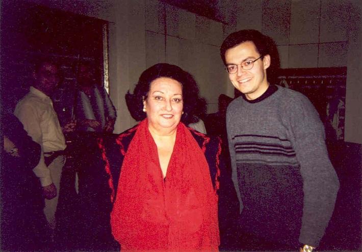 Stretnutie pána Gabriša s Montserrat Caballé v SND v r. 2000