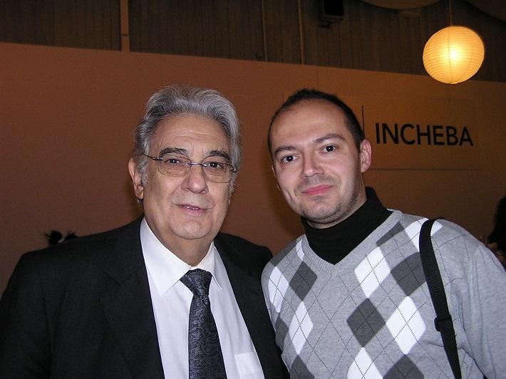 M. Gabriš s P. Domingom v Bratislave (2010)