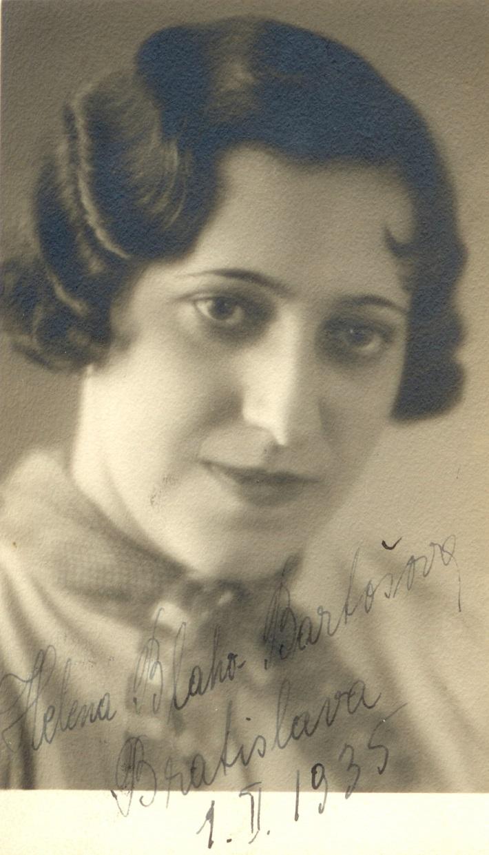 Helena Bartošová, (1905-1981)