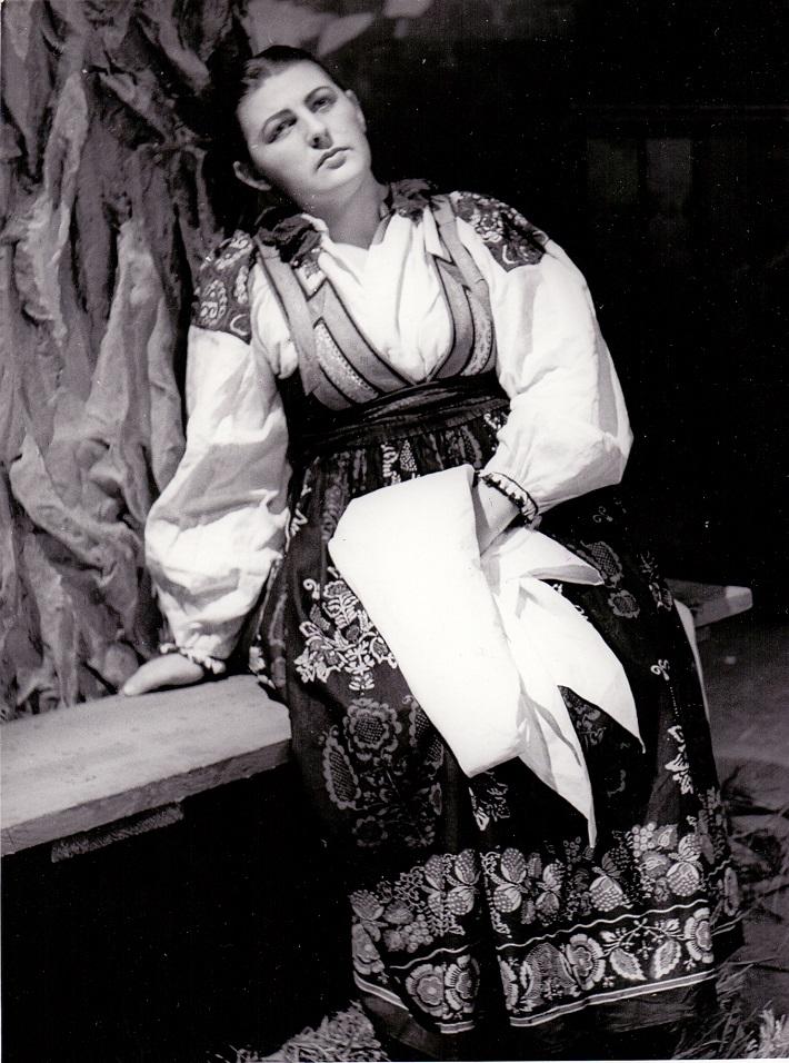 Krútňava, Opera SND, 1952, Štefánia Hulmanová (Katrena)