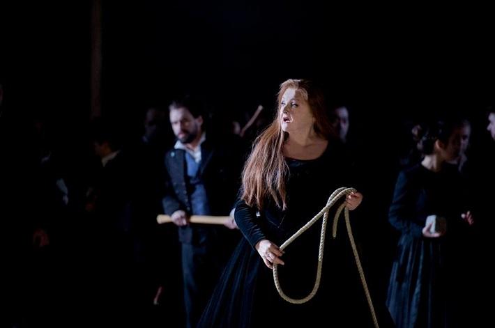 La Straniera, Theater an der Wien, Edita Gruberová (Alaide), foto: Monika Ritterhaus
