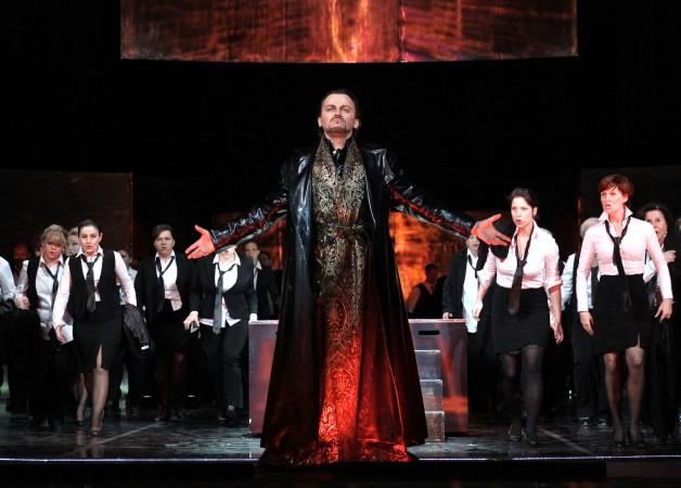 Mefistofeles, Štátna opera Praha, foto: Hana Smejkalová