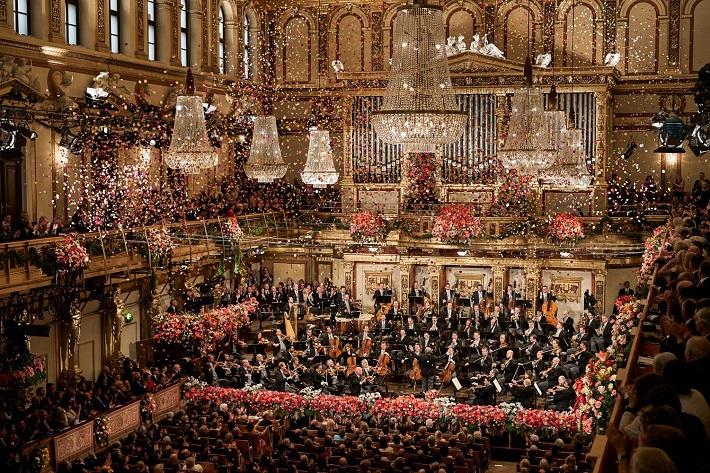 Novoročný koncert Viedenských filharmonikov 2015