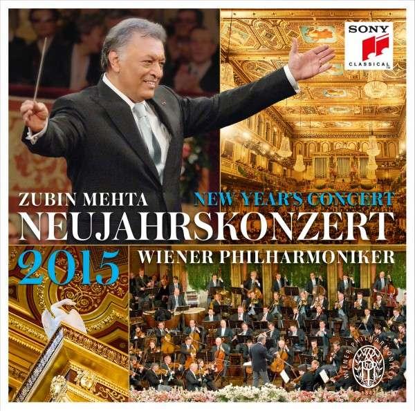 Novoročný koncert Viedenských filharmonikov 2015, Záznam z koncertu vydáva SONY Classical na CD, DVD a BlueRay