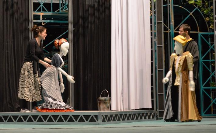 bábkovo – operná Rossiniho Popoluška, Opera ŠD Košice, foto zo skúšky opery