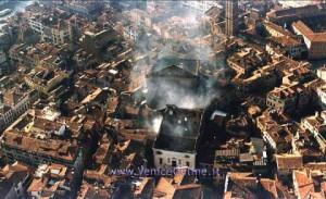požiar v divadle Teatro la Fenice
