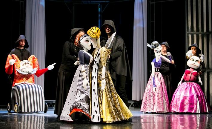 Popoluška, Opera ŠD Košice a Bábkové divadlo v Košiciach, foto: Joseph Marčinský