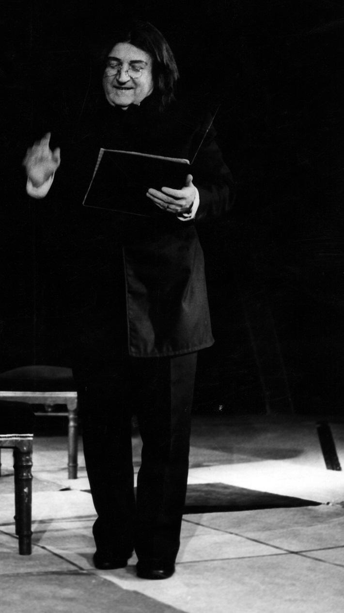 Štefan Senko, Mamzelle Nitouche (opereta), DJZ Prešov, 1985, foto: archív DJZ