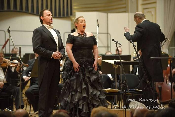 Štefan Kocán, Mária Porubčinová, Rastislav Štúr, koncert agentúry Kapos, foto: Milan Krupčík