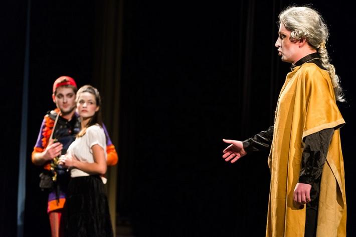 Čarovná flauta, predstavenie Operného štúdia Konzervatória v Bratislave (2015)