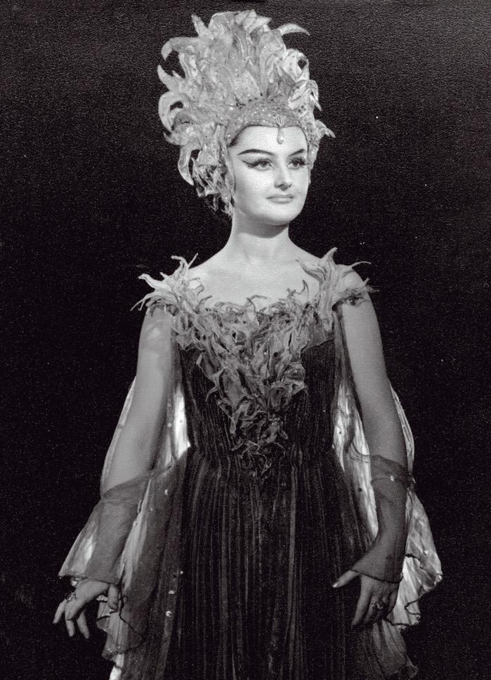 Edita Gruberova ako Kráľovná noci  v Čarovnej flaute, Wiener Staatsoper 1970, Zdroj:  Kunsthistorisches Museum