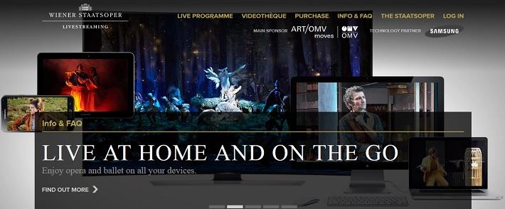 Livestreaming Viedenskej štátnej opery
