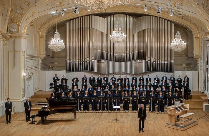 Slovenský filharmonický zbor, S. Šurin, organ, T. Nemec, klavír, J. Chabroň, zbormajster, foto: SF