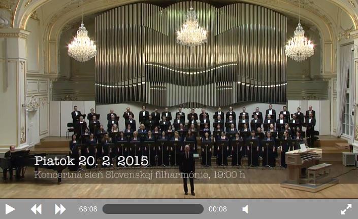 Videostream SFZ à cappella – 20. 2. 2015