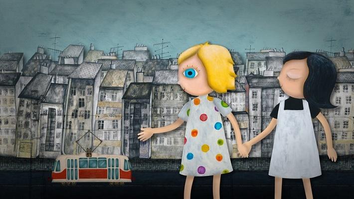 Animovaný seriál Mimi a Líza, foto: www.marekpiacek.sk