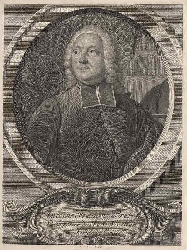 Antoine François Prévost, (1697-1763)