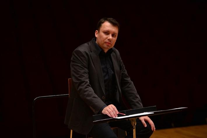 Dirigent Adrián Kokoš, foto: Radio_Head Awards