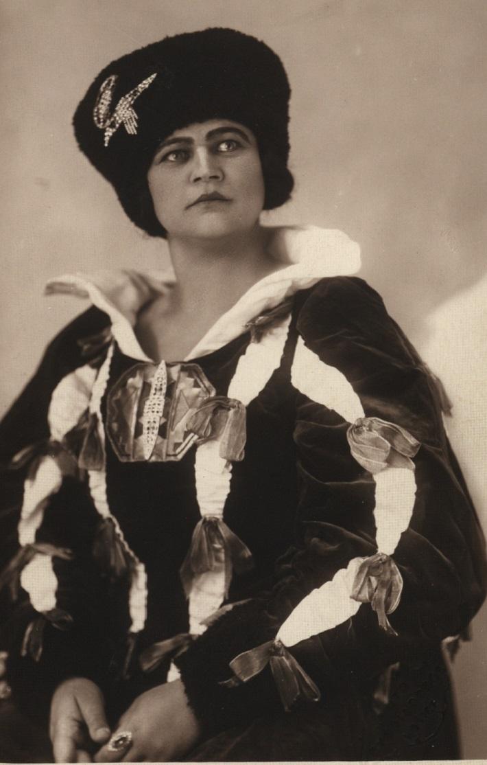 Dobřena Šimáňová (Marina), 1928, Antonín Dvořák: Dimitrij, foto: Archív Divadelného ústavu
