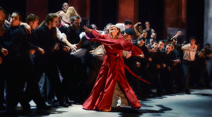 Hry o Marii, Opera ND Brno, foto: Marek Olbrzymek