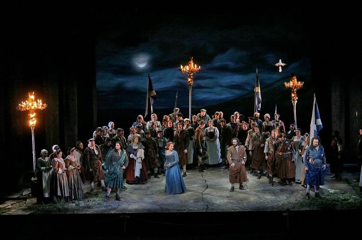 Jazerná pani, Metropolitná opera New York, foto: Ken Howard/Met Opera