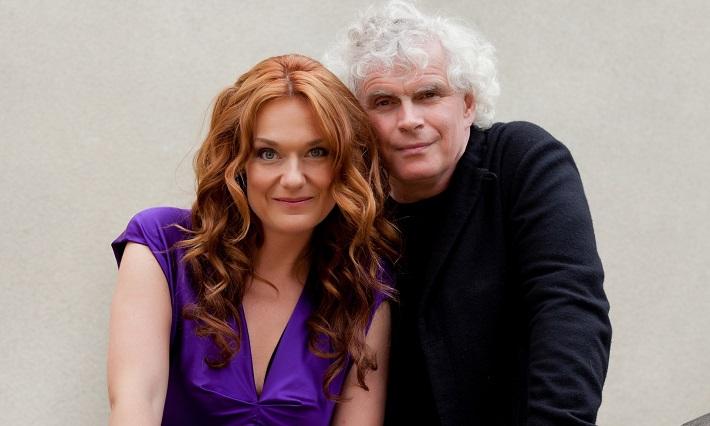 Magdaléna Kožená a Simon Rattle, foto: Jiří Sláma