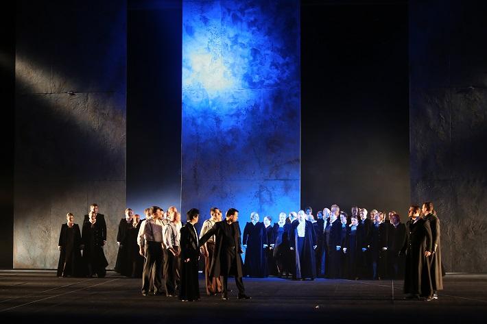 Romeo a Júlia, Opera SND, Scéna, foto: Jozef Barinka