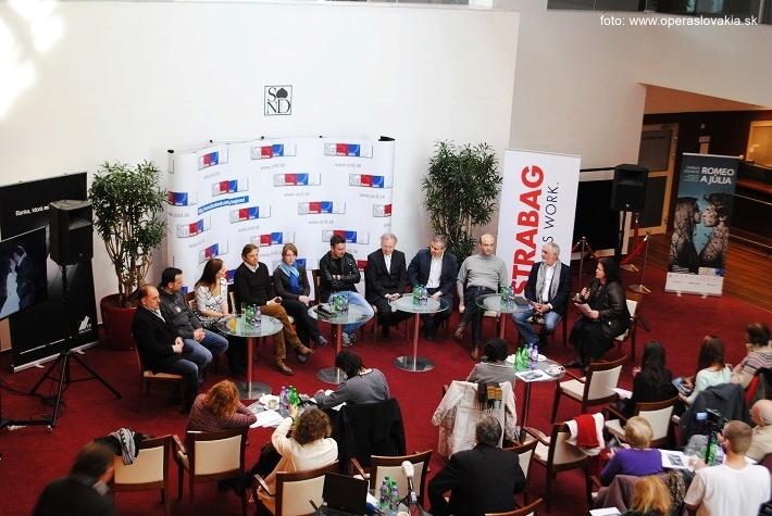Tlačová konferencia k premiére opery Romeo a Júlia v Opere SND, foto: Ľudovít Vongrej
