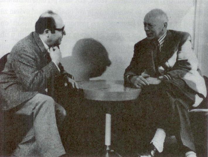 Zdeněk Košler s Jánom Cikkerom v SND