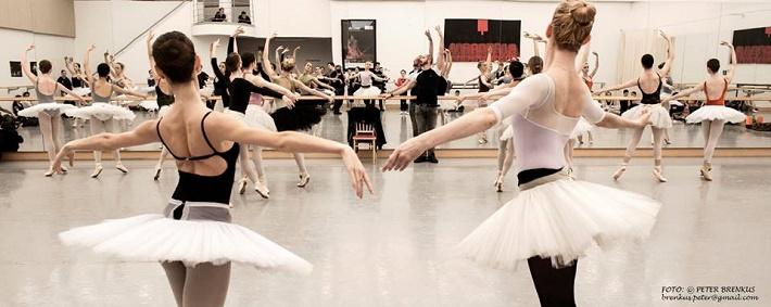 Balet SND, skúška baletu, foto: Peter Brenkus