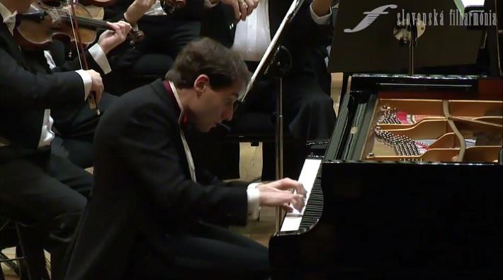 Boris Giltburg, koncert v Slovenskej filharmónii