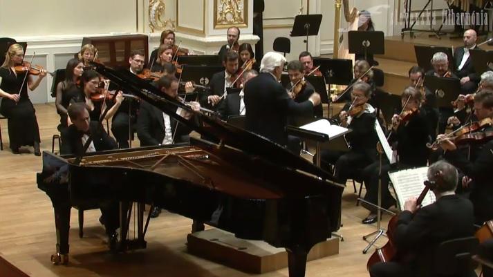 Boris Giltburg (klavír), Ralf Weikert (dirigent), orchester Slovenskej filharmónie